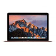 "Refurbished MacBook 12"" - New Battery, Rose Gold, Intel Core m3 1.1 GHz, 8 GB RAM, 256 GB SSD"